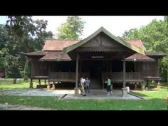 An Overview of the Traditional Malay House - YouTube