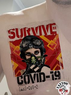 covid-19 tattoo motiv von der Tattooinsel Deadpool Videos, Video Game, Tattoos, Artwork, Tatuajes, Work Of Art, Auguste Rodin Artwork, Tattoo, Artworks