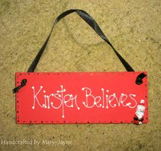 Shabby Chic Handcrafted Wooden Gift Plaque by byfairydust on Etsy, $8.95