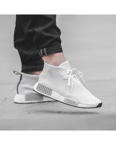 Adidas NMD CHUKKA Classic Shoes Men Old White First-Rate