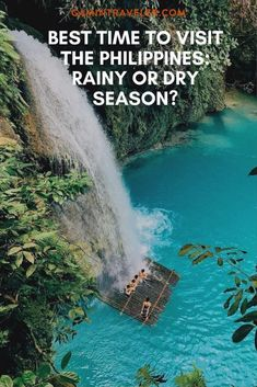 50 Waterfalls in the Philippines from places near Manila, Cebu and the province in Mindanao. With transparent and clear water. Siargao, Palawan, Luang Prabang, Coron, Travel Guides, Travel Tips, Travel Advise, Travel Photos, Travel Hacks