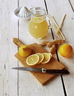 Zázvorová limonáda s medem  Foto: Tereza Sychrová FOODLOVER.CZ