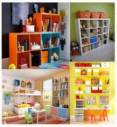10 storage ideas for kids rooms 10 Storage Ideas for Kids Rooms Kids Storage, Storage Ideas, Shelving Ideas, Toy Storage, Room Interior, Interior Design Living Room, Toy Rooms, Kids Rooms, Kid Spaces