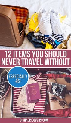 Packing Tips: 12 Not so Obvious Items You Shouldn't Travel Without - Are you going on a vacation, but you have no idea what to pack? Read my packing list so you don't forget these crucial items on your travels. #travel #traveltips #packing #packingtips #packinghacks #packingtipsforvacation Packing Tips For Vacation, Her Packing List, Road Trip Packing, Travel Packing, Travel Bag, Travel Gadgets, Travel Hacks, Travel Advice, Travel Essentials