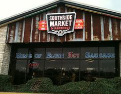 Southside Market in Elgin, TX. Delicious BBQ and sausage | Tilted Chair Creative