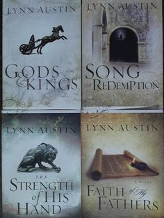 An amazing historical series which follows the kings of Israel around the time of King Hezekiah and his son. Powerful story lines and characters which brings this time period to life in amazing detail. Chronicles of the Kings #1-4 #5 Among the Gods not shown here.