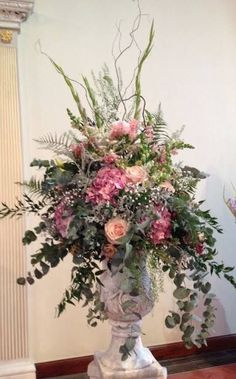 Posy Barn large pedestal arrangement for church 2019 Posy Barn large pedestal arrangement for church The post Posy Barn large pedestal arrangement for church 2019 appeared first on Floral Decor. Summer Flower Arrangements, Artificial Floral Arrangements, Beautiful Flower Arrangements, Beautiful Flowers, Table Arrangements, Artificial Flowers, Elegant Flowers, Wedding Arrangements, Floral Centerpieces