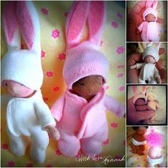 Last 2 Bitty Bit Bunny Babies
