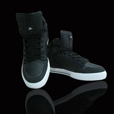 Women Supra Vaiders Shoes Black