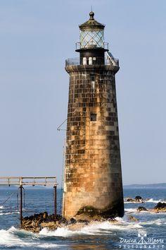 Ram Island Ledge Lighthouse Portland Maine