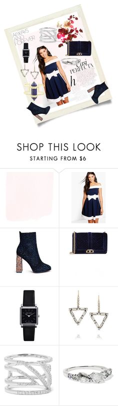 """Navy  Blue Mini"" by paige-brrian ❤ liked on Polyvore featuring Whiteley, Boohoo, Sophia Webster, Rebecca Minkoff, Isabel Marant, Lulu Frost, Khai Khai, Alexis Bittar and Kendra Scott"