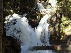 Ein Naturerlebnis sind die Rißlochwasserfälle bei Bodenmais im Bayerischen Wald