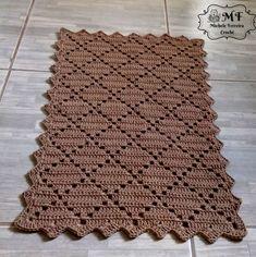 Crochet doilies placemat rugs new Ideas Filet Crochet, Crochet Motif, Crochet Shawl, Crochet Doilies, Baby Blanket Crochet, Crochet Baby, Crochet Placemat Patterns, Crochet Ideas, Crochet Carpet
