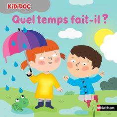 Quel temps fait-il ?, illustré par Mélisande Luthringer  Tous à la piscine !, illustré par Marion Piffaretti