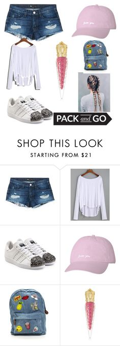 """Mini vaca day"" by sage-baker-1 ❤ liked on Polyvore featuring 3x1, adidas Originals and Christian Louboutin"