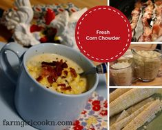 Social Distancing Recipe: Quick and Easy Corn Chowder - Farm Girl Cookn