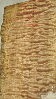 Quilted Big Leaf Maple ~ a gorgeous wood for panels, furniture or even hardwood flooring