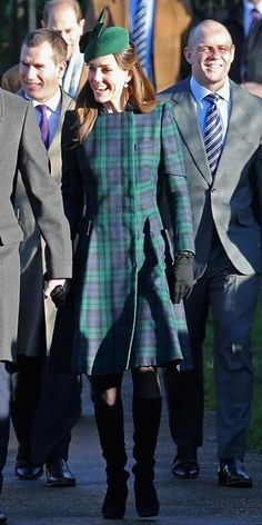 Kate Middleton's Most Memorable Outfits Ever! - December 25, 2013 from #InStyle