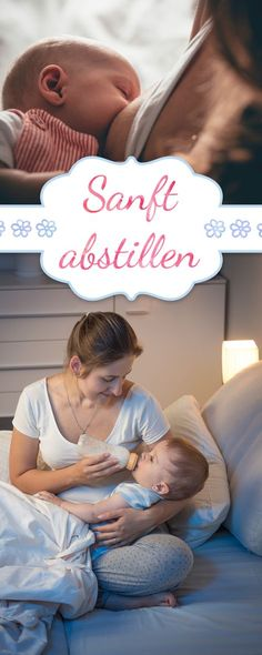 """Richtig Abstillen: So funkitioniert es Weaning is a sensitive topic. In addition to the """"when"""", above all the """"how"""" is decisive. Alaskan Klee Kai, Baby Co, Mom And Baby, Baby Baby, Breastfeeding Techniques, Bulletins, Baby Care Tips, Baby List, Baby Hacks"""
