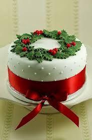 Resultado de imagem para bolo de natal decorado