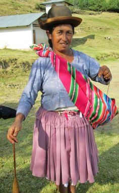 Dona-Narciza-Cortez, Bolivia. Have you heard about Spinzilla and the Warmis Phuskadoras? ClothRoads is sponsoring a group of twenty-five Bolivian hand spinners, named the Warmis Phuskadoras, in an international hand spinning competition, Spinzilla. (Warmis is Quechua for women, Phuska is Quechua for drop spindle, and the doras part is Spanish for women who spin.) In its second year, Spinzilla decided to expand its boundaries to include international spinners.