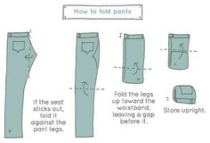 folding clothes Your drawers fit more than you think. Try these 10 ways to fold clothes and save major space How To Fold Shorts, Konmari Method Folding, Folding Jeans, Ideas Hogar, H & M Home, Tidy Up, Packing Tips For Travel, Packing Hacks, Packing Lists