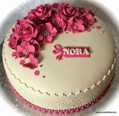 Konfirmasjon kake Blomster Cake flower