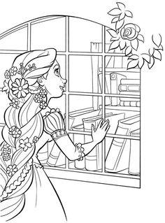 pages d'imprimable Coloriage gratuit disney Princesse Raiponce tangled pour garçons enfants 5541   32 coloriage à imprimer
