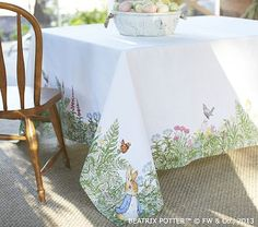 Peter Rabbit™ Tablecloth (for Easter) #PotteryBarnKids