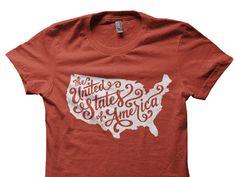 United States of America Tee. Jude Landry