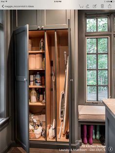 """Fantastic """"laundry room storage ideas"""" information is readily available on our site. Check it out and you Fantastic """"laundry room storage ideas"""" information is readily available on our site. Check it out and you will not be sorry you did. Mudroom Laundry Room, Laundry Room Remodel, Farmhouse Laundry Room, Laundry Room Organization, Laundry Room Design, Laundry Storage, Vacuum Storage, Organization Ideas, Ironing Board Storage"""