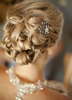 romantic bridal updos | Wedding Hairstyle Inspiration for 2013 | Bridal Custom Wedding Gowns ...