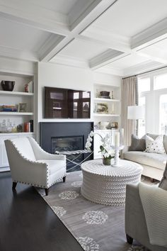 Bethesda Townhouse Family Room
