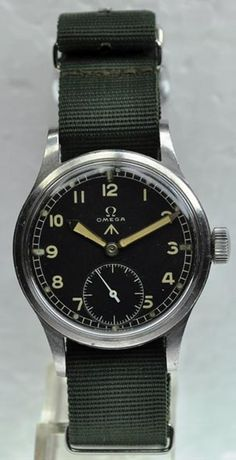 Omega British Military Watch, WWII Vintage.