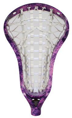 Lacrosse Unlimited Girls Lacrosse Head Dyed - Plum Bum Speckle
