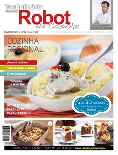 TeleCulinaria Especial Robot de Cozinha Novembro 2014 edition - Read the digital edition by Magzter on your iPad, iPhone, Android, Tablet Devices, Windows 8, PC, Mac and the Web.