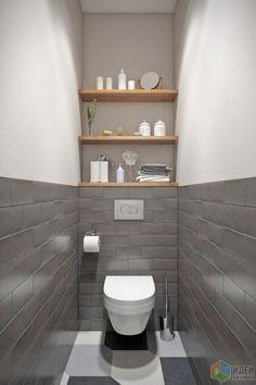 Small Toilet Design, Bathroom Layout, Modern Bathroom Design, Bathroom Interior Design, Bathroom Designs, Toilet And Bathroom Design, Bathroom Colors, Small Downstairs Toilet, Small Toilet Room