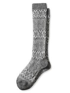 Fair Isle Boot Sock | Banana Republic