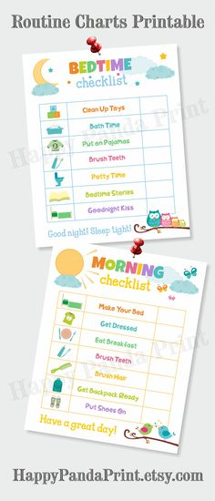 MORNING AND BEDTIME Checklist Printable Morning Routine Checklist Bedtime Routine Checklist Morning Chart Bedtime Chart Kids Chart To Do List Organizational Printables Kids Organizational Prints Routine Charts, Bedtime Chart, Bedtime Routine Chart, Morning Routine Chart, Morning Routine Checklist, Morning Routine Kids, Toddler Routine Chart, Bedtime Routines, Bedtime Routine Printable, Kids Checklist