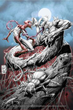 Spiderman vs anti venom
