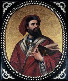 Marco polo, geboren op 1254 en gestorven op 8 januari 1324 in Venetië. Marco polo was een vevetiaanse handelaar.