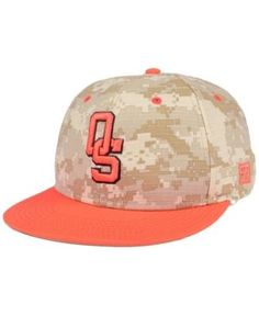 Game Sportswear Oklahoma State Cowboys Game True Fitted Cap - Camo Orange 7 9635a3e9df