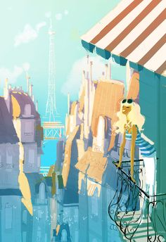 Spring Break by PascalCampion.deviantart.com on @deviantART