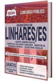 Apostila Concurso Prefeitura De Linhares Varios Cargos Em 2020