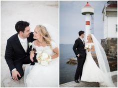 Bryllups bilder Drøbak Villa Malla + veldig fin kjole!