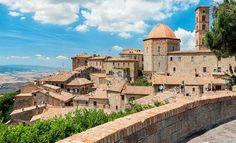 Volterra, en Italia - Toscana.