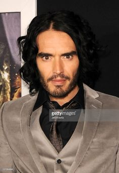 Comedian Russell Brand arrives at the Los Angeles premiere of 'The Tempest' held at the El Capitan Theatre on December 6, 2010 in Hollywood, California.