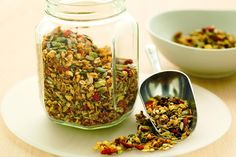 Toasted muesli http://www.taste.com.au/recipes/18365/toasted+muesli
