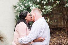 Yashara + Brock Engaged | Engagement Session in Falls Park Greenville