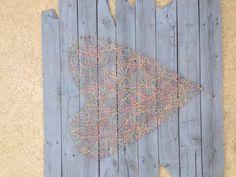 Yarn art heart
